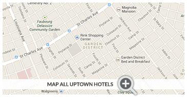 Garden District/Uptown Hotels