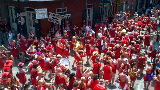 New Orleans Red Dress Run