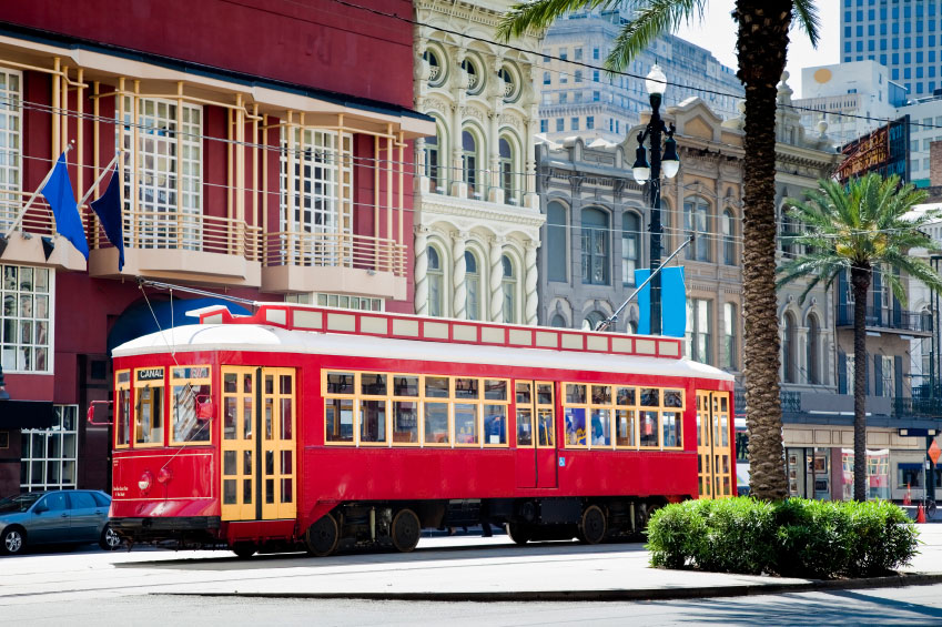 Getting Around New Orleans Via The Streetcar – New Orleans French Quarter Tourist Map