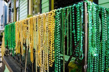 St. Patrick's Day Decorations in New Orleans